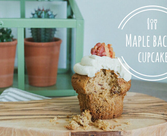 Recept // Maple Bacon Cupcakes