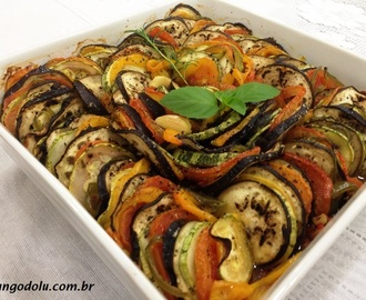 RATATOUILLE NO FORNO