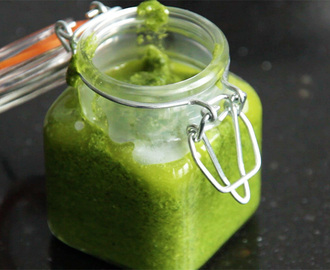 Super snel gezonde pesto recept! + video