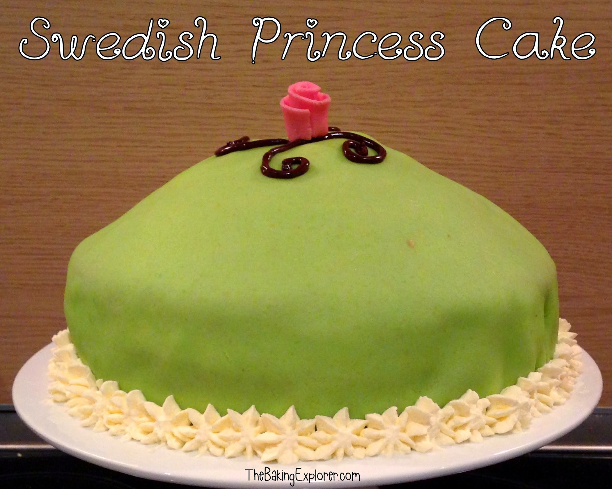Swedish Princess Cake: GBBO Week #6
