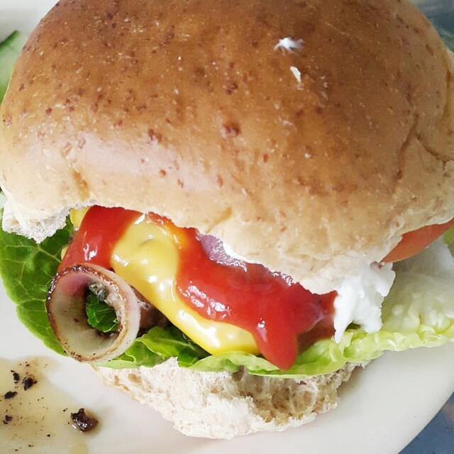 Recept: Home made hamburger