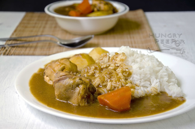 Japanese Chicken Curry (チキンカレー)