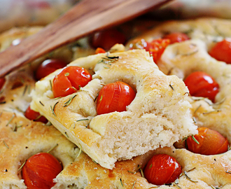 Focaccia by Jamie Oliver