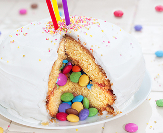 Smartie Pants Pinata Cake Recipe