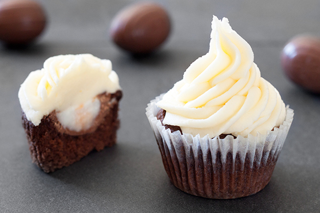 Cadbury Creme Egg Cupcake Recipe