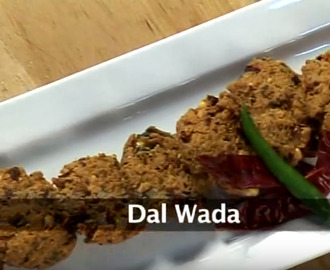 Chana Dal Vada Recipe Video