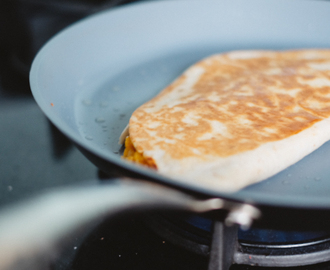 Butternut quesadillas