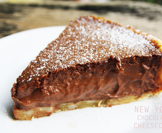 New York Chocolate Cheesecake & neues Blogdesign