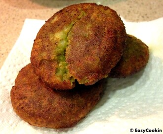 Cilantro Potato Patties – Dhaniya Aloo Tikki