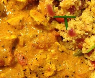 Csirke Curry & Couscous