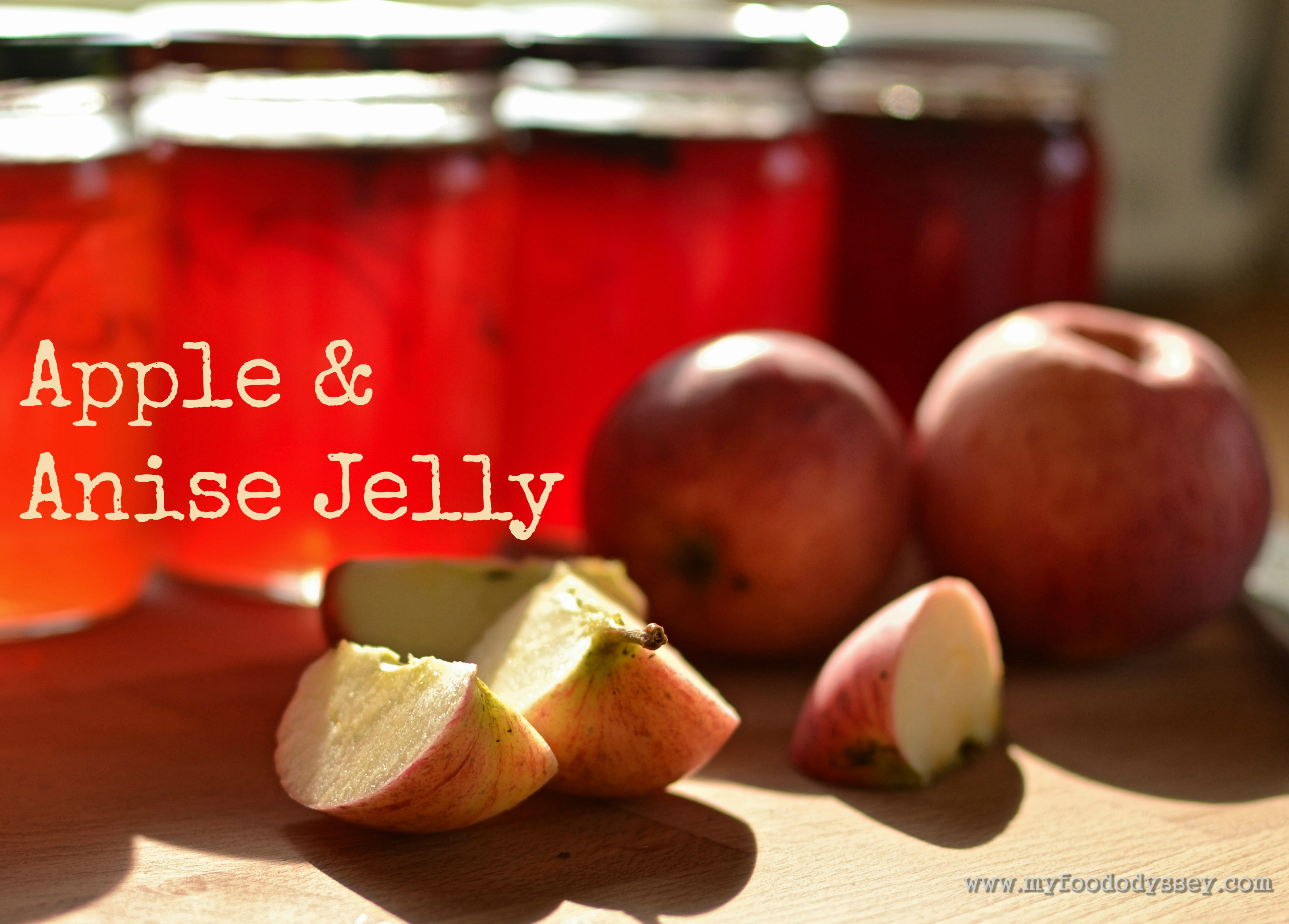 Apple & Anise Jelly [Recipe]