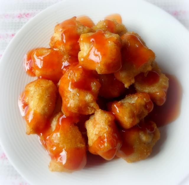 Sweet And Sour Chicken Balls . . .  Combo Number Nine Part Deux