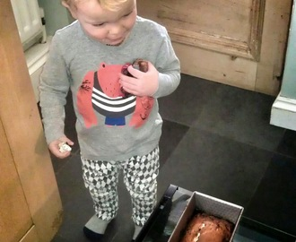 Mommy Recipe #10  Banana Loaf (Calling All Baker Boys and Baker Girls)
