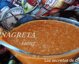 VINAGRETA LIGHT PARA ENSALADAS
