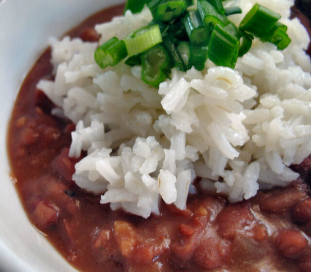 Red Beans & Rice - It must be Monday!