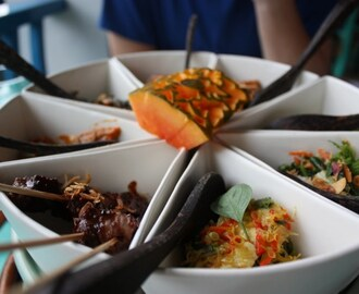 Feasting for Hours: Rijsttafel in Ubud-Bali