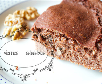 Snacks fitness y saludables. brownie fitness,flan de verduras y cookies mantequilla de cacahuete