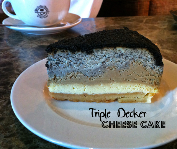 Triple Decker Cheesecake
