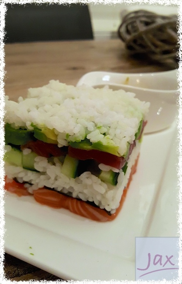 Sushi-carrees (zonder Thermomix)