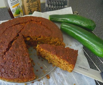 Courgette-brood of cake (zoet)