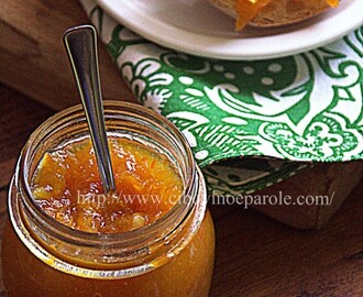 Marmellata arance e zenzero- Orange and ginger jam