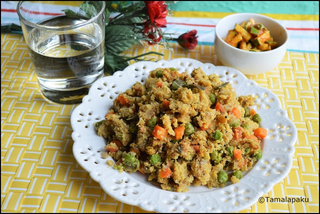 Corn Meal Masala Upma