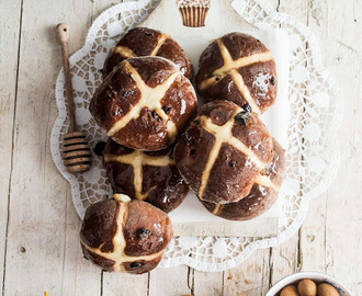 Hot Cross Buns de Chocolate