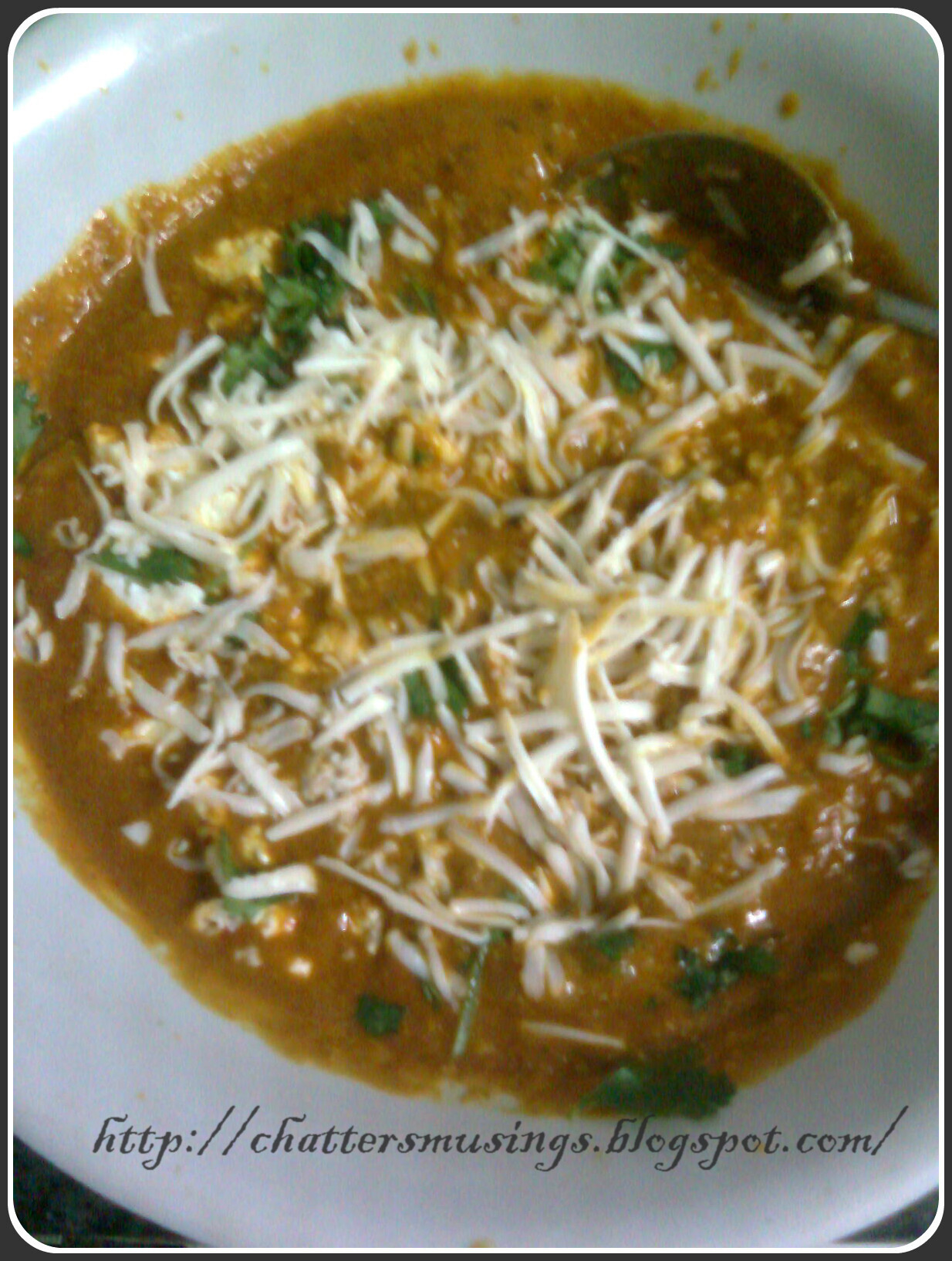 Cheese butter paneer masala..