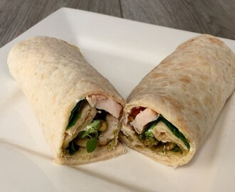 Recept: Kip pesto wrap