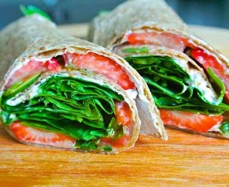 IT'S A WRAP: Aardbei & rucola