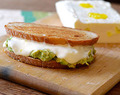 Faux Grilled Monterrey Jack Cheese & Avocado