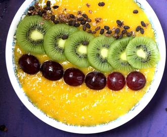 Mango Smoothie Breakfast Bowl