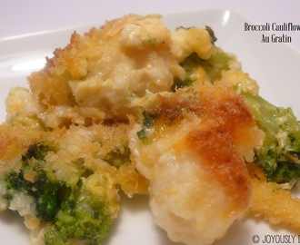 Cauliflower and Broccoli Au Gratin