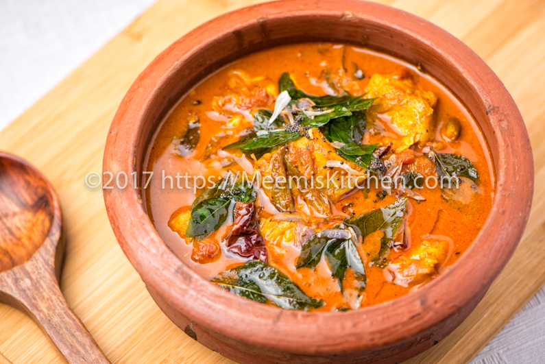 Spicy Tangy Fish curry, Kerala Tangy Fish curry - MeemisKitchen