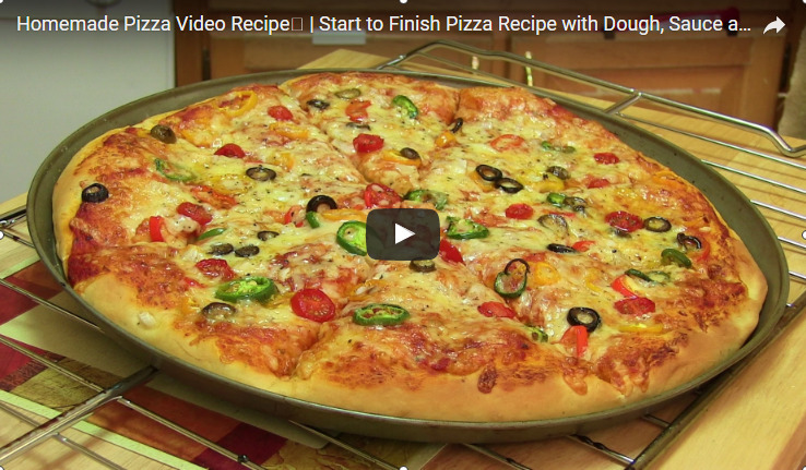 Homemade Pizza Recipe Video