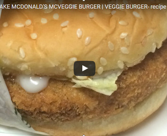 Veggie Burger Recipe Video