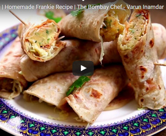 Veg Frankie Recipe Video