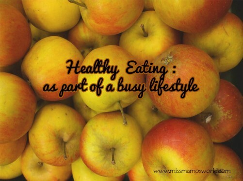 Healthy Eating : Busy Lifestyle