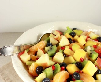 Winterse fruitsalade
