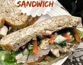 Tahini Chicken Sandwich