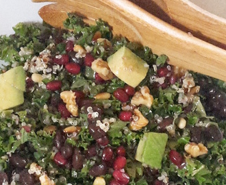 RECEPT | Boerenkool – quinoa salade met citrusdressing