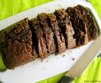 Chocolate Sponge cake - Eggless