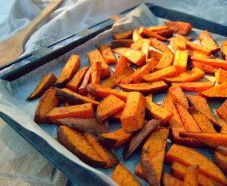 Bataattiranskalaiset / Sweet potato fries