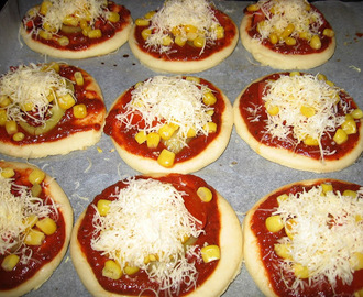 Pizza recept