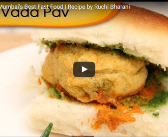 Vada Pav Recipe Video