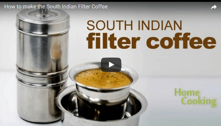 South Indian Filter Coffee Recipe Video