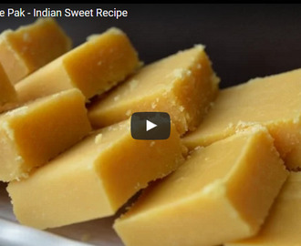 Mysore Pak Recipe Video