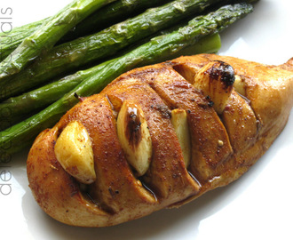 Garlic Chicken with Roasted Asparagus
