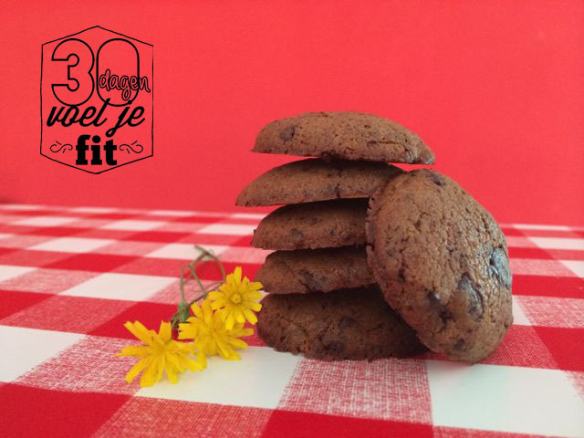 Recept: chocolate chip cookies