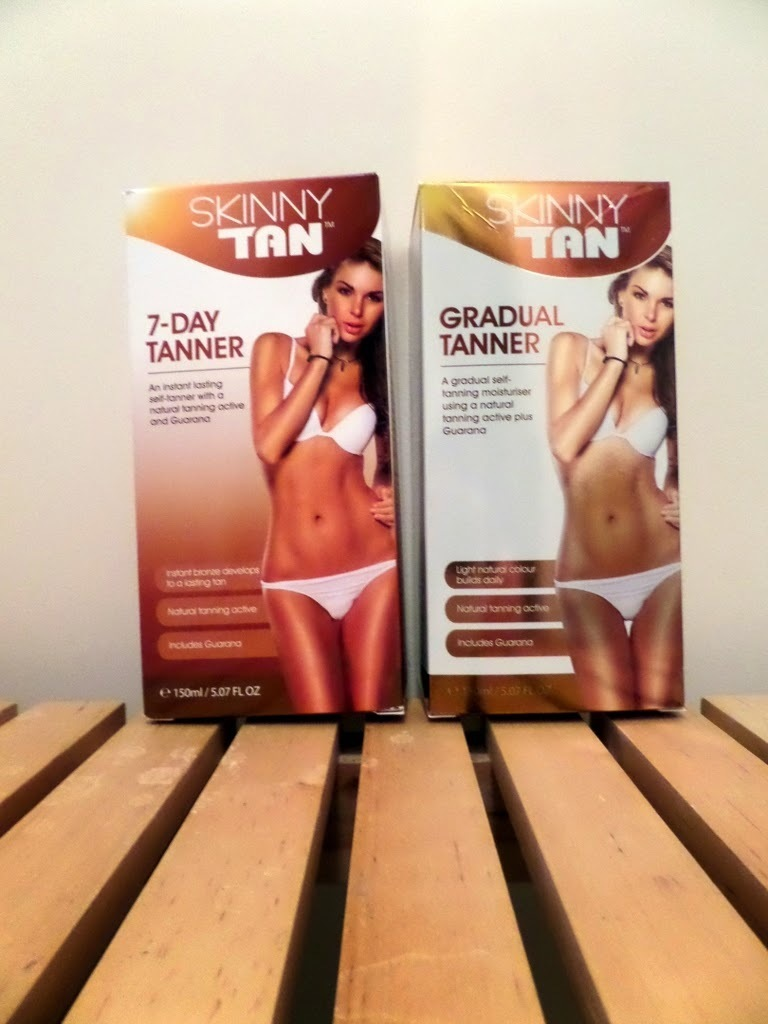 Review: Skinny Tan 7 Day Tanner and Gradual Tanner